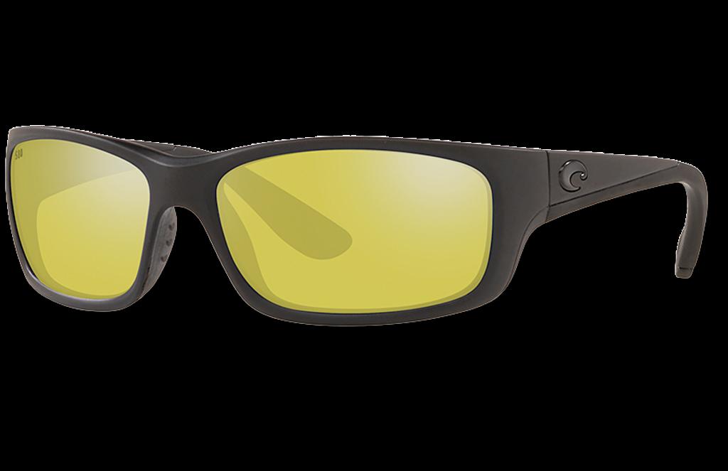 Jose Polarized Glass 580 Sunglasses - Blackout/Sunrise Silver Lightwave Glass