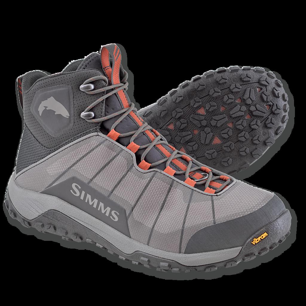 Simms Flyweight Wading Boots - Vibram Sole