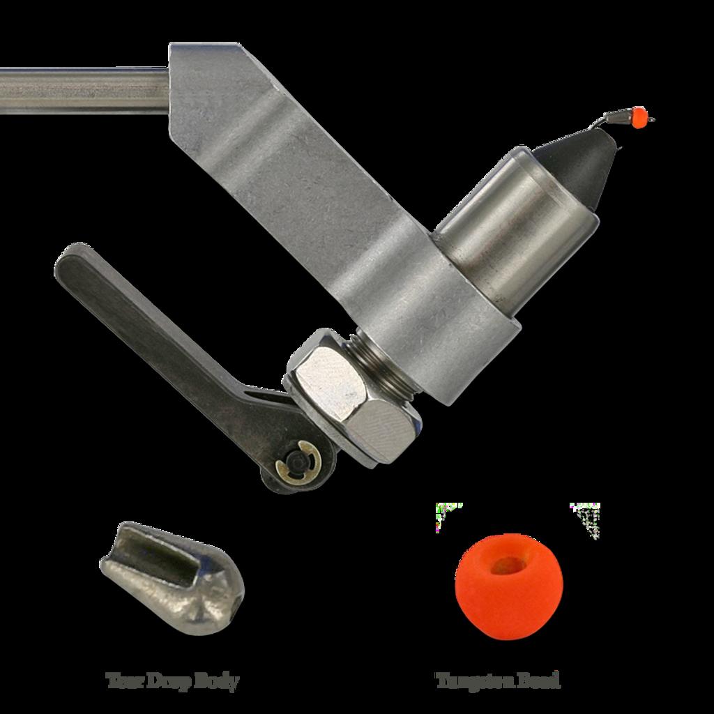 Firehole Sample Layout - Tear Drop Bodies/Tungsten Bead