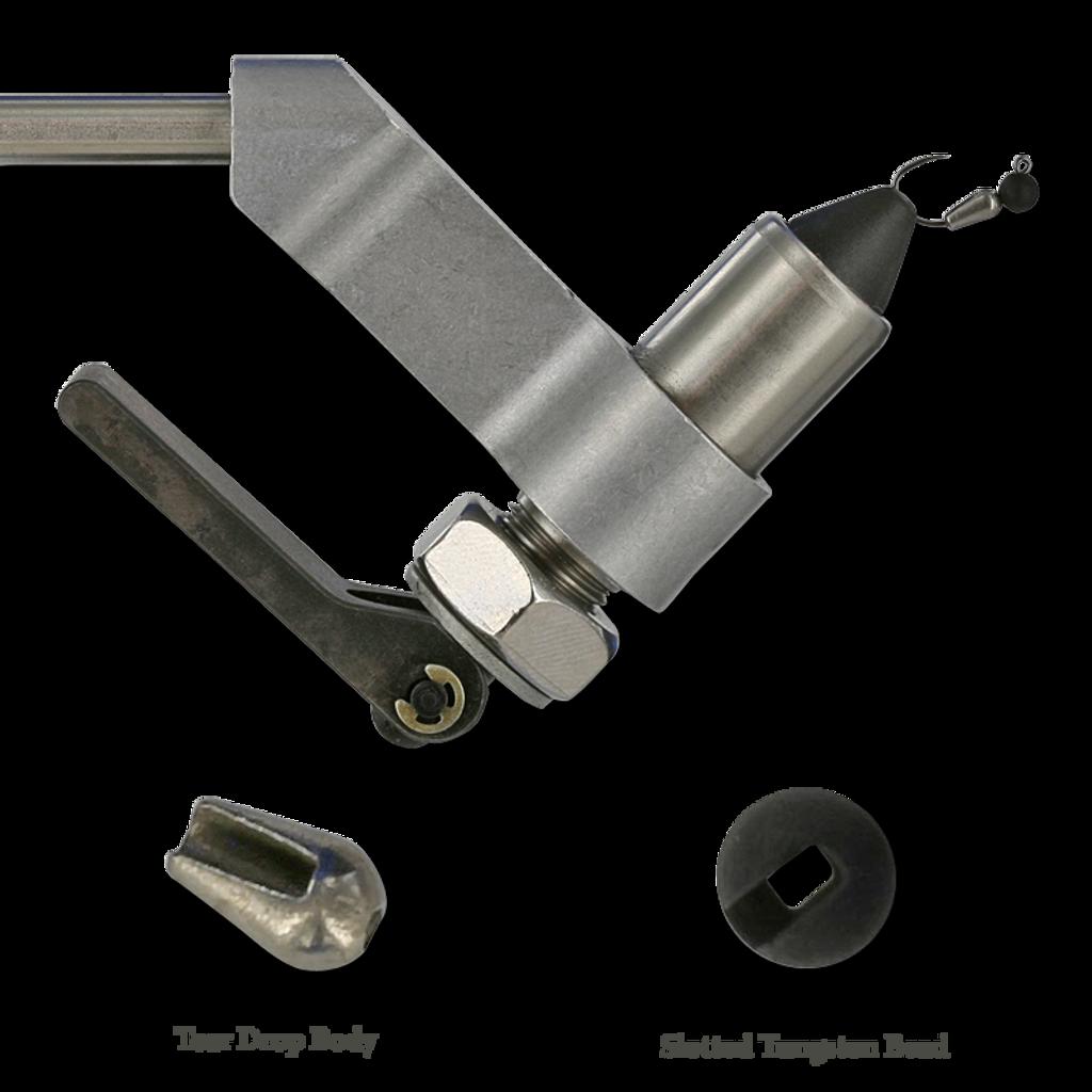 Firehole Layout - Jig Hook/Tear Drop Body/Slotted Tungsten Bead