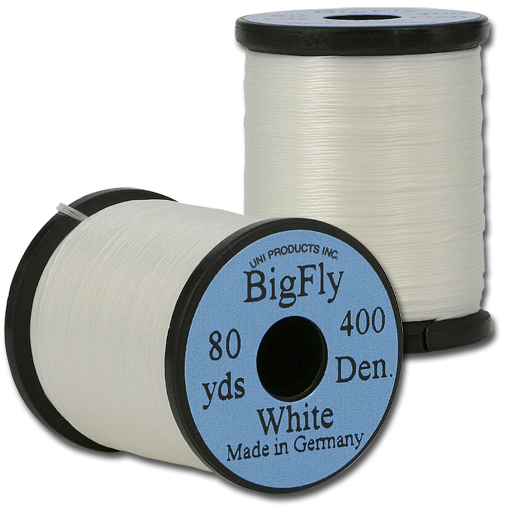UNI Big Fly Thread - White