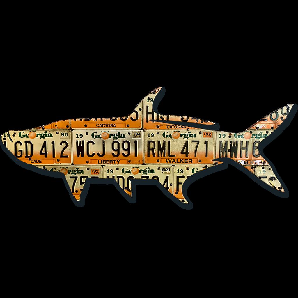 Georgia Tarpon License Plate Art