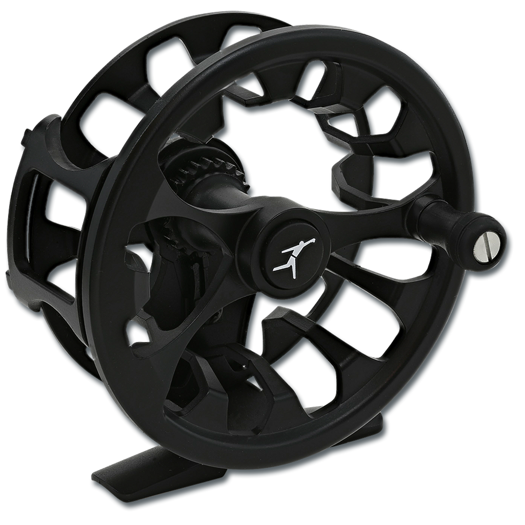 Echo Shadow Click Euro Nymph Reel (Front)