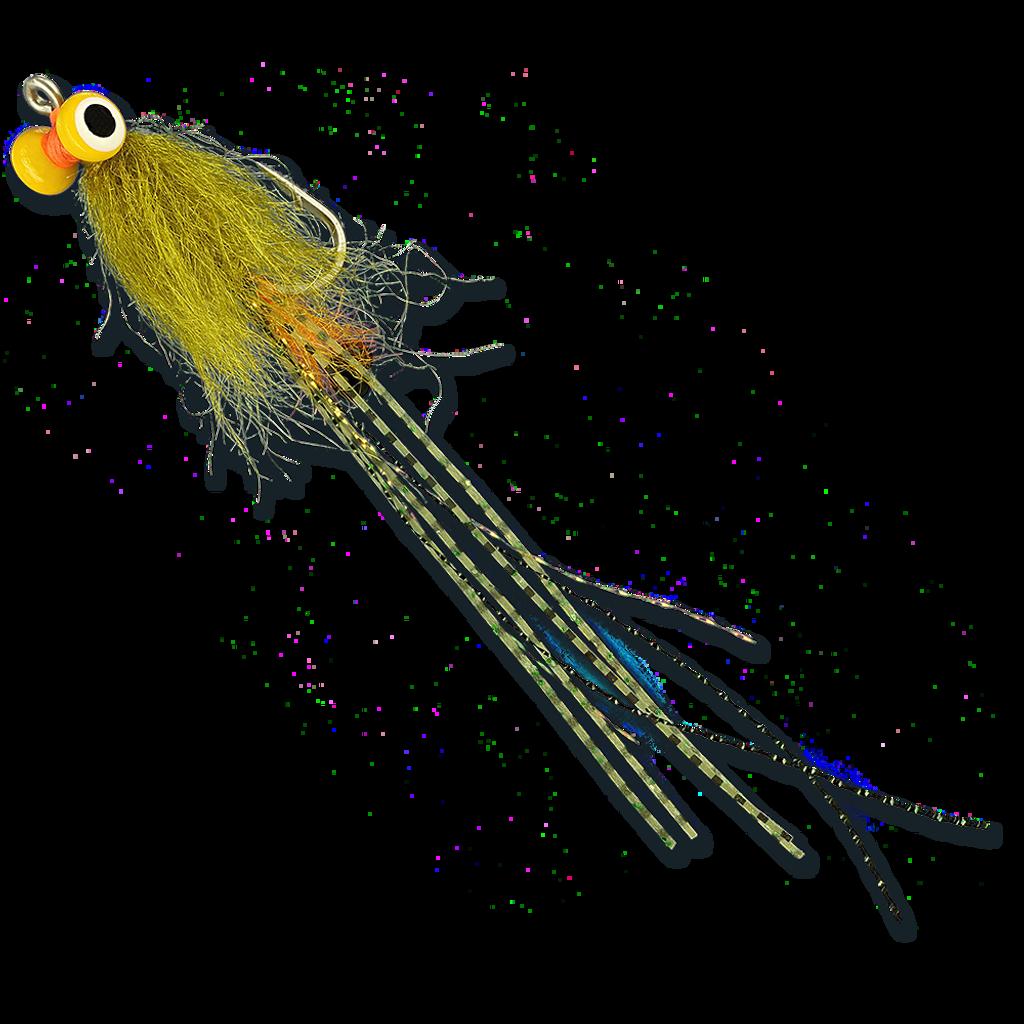 ESB Yellow Eye Spawning Shrimp - Olive