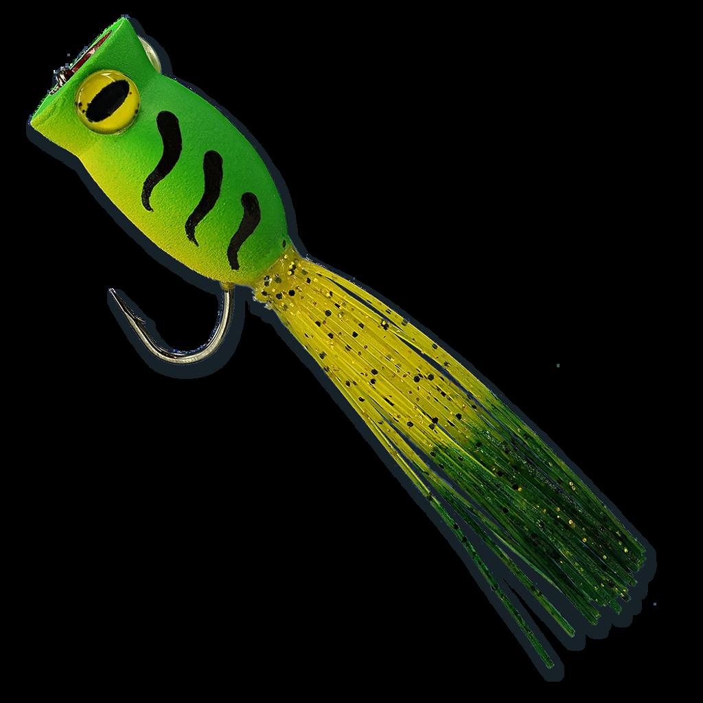 La'Au Frog - Green & Yellow