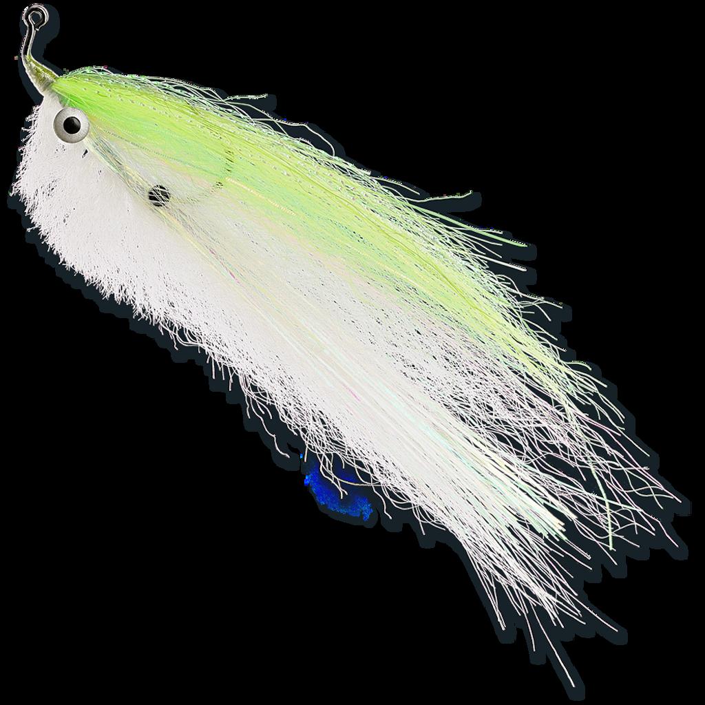 Spot-on Baitfish - Chartreuse & White
