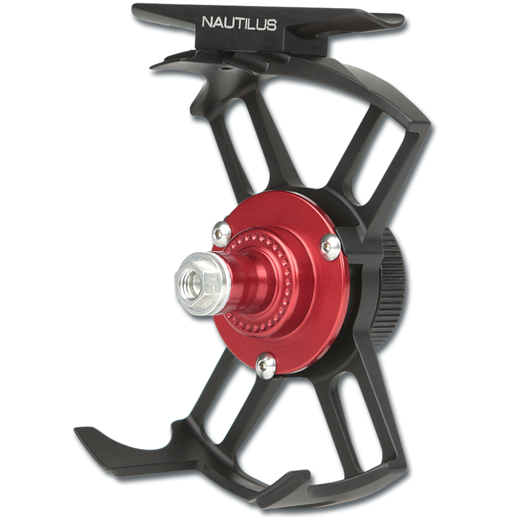 Nautilus X-Series Fly Reels - Brushed Black Anodized