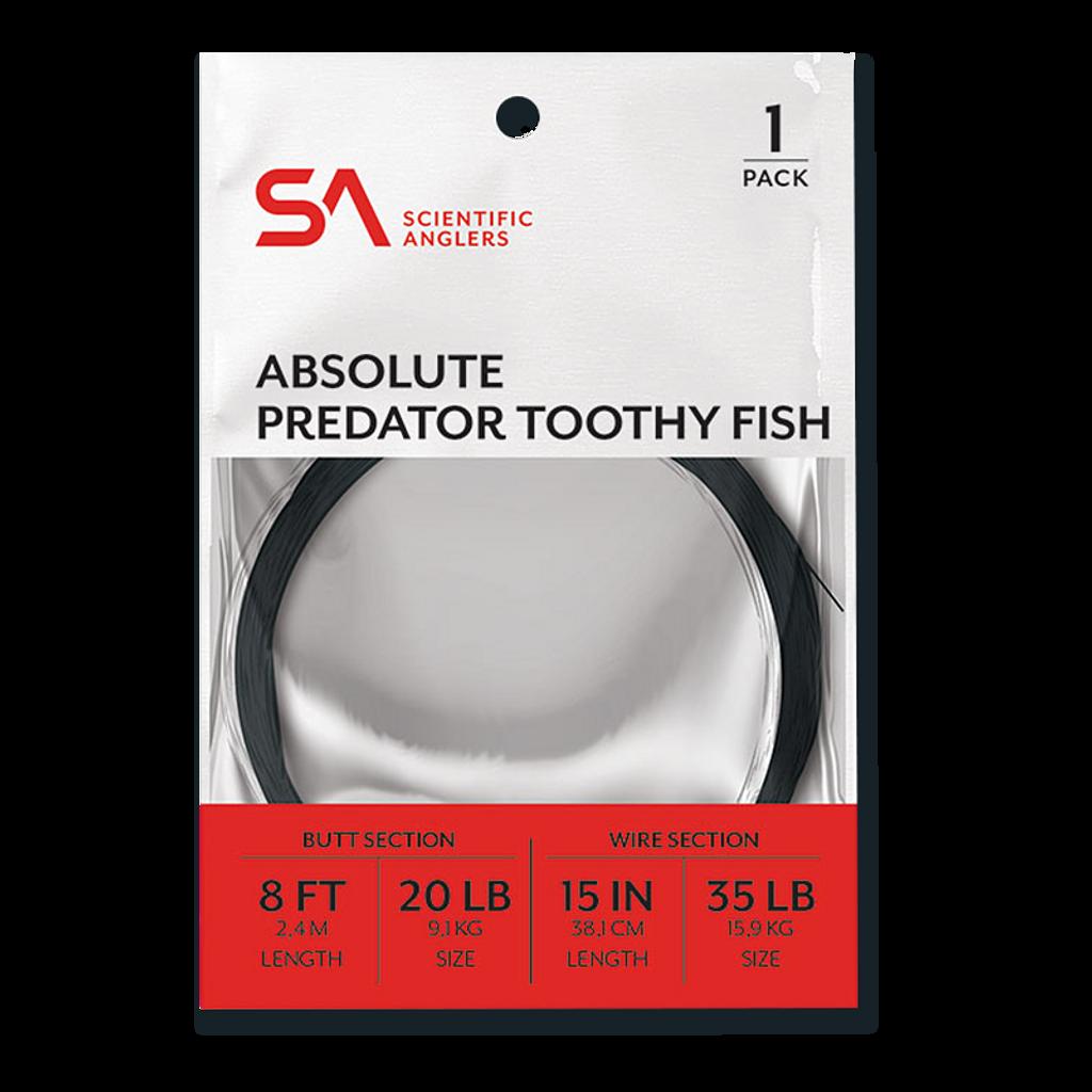 Scientific Anglers Absolute Predator Toothy Fish Leaders