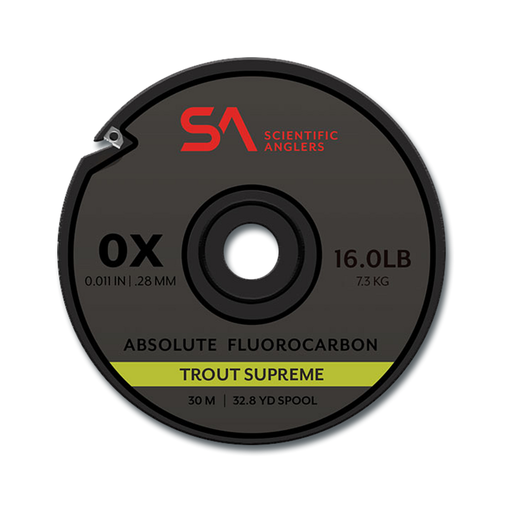 Scientific Anglers Absolute Supreme Fluorocarbon Trout Tippet