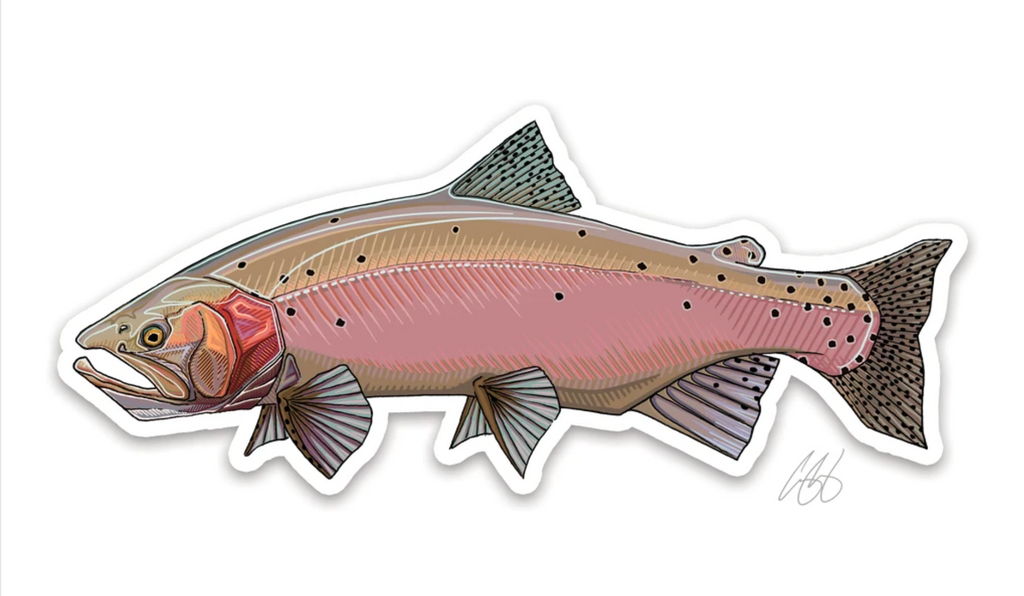 Casey Underwood Fish Decal - Lohanton Cutthroat