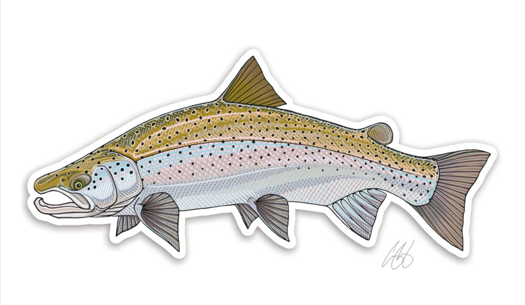 Casey Underwood Fish Decal - Atlantic Salmon