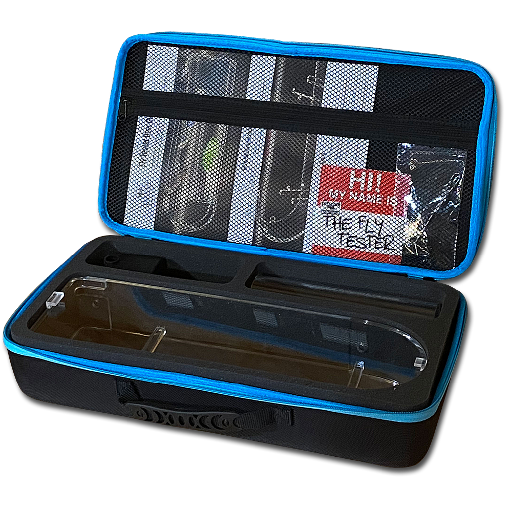 Fly Tester™ in carrying case
