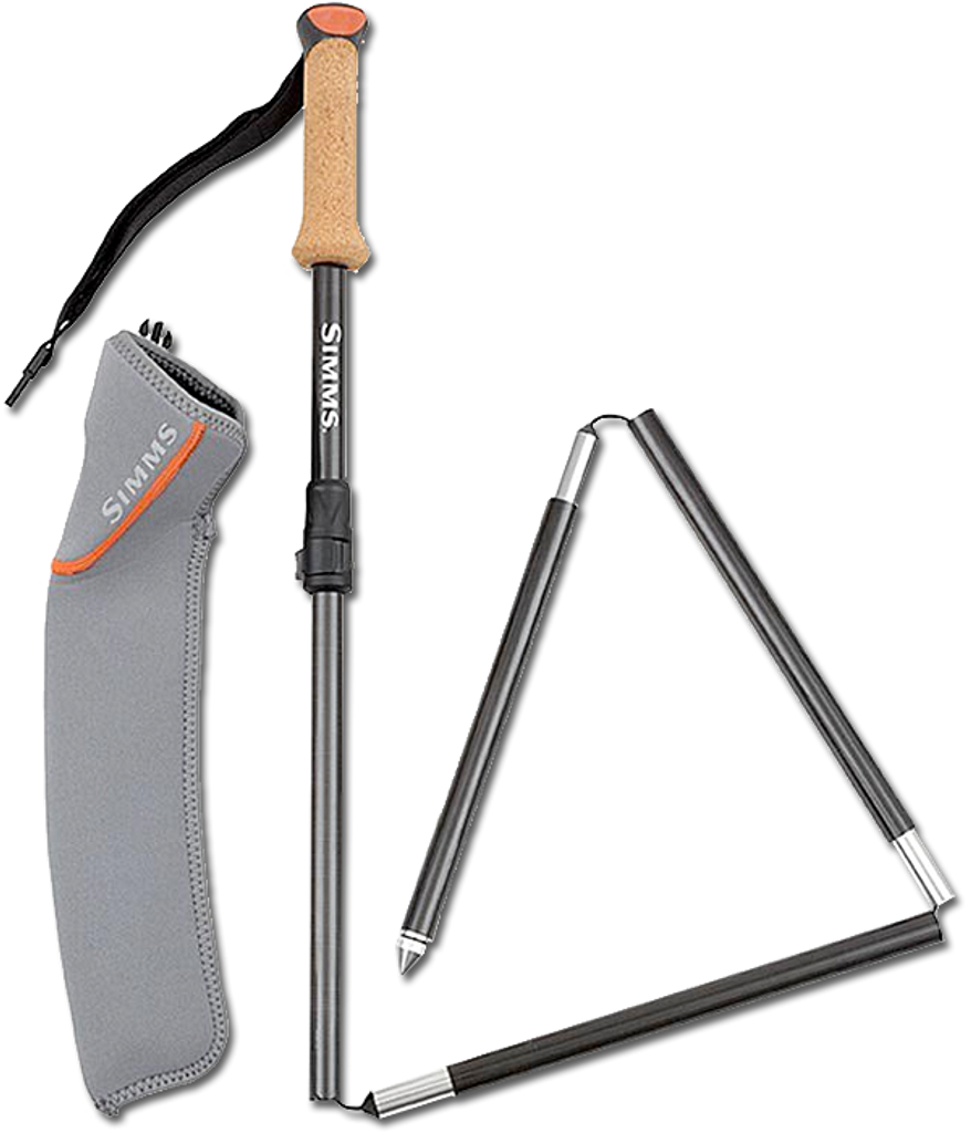 Simms Pro Carbon Wading Staff