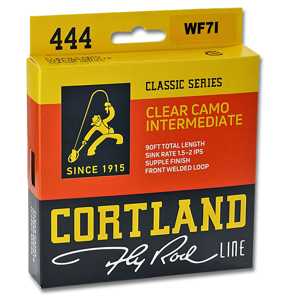Cortland Clear Camo Intermediate Fly Line