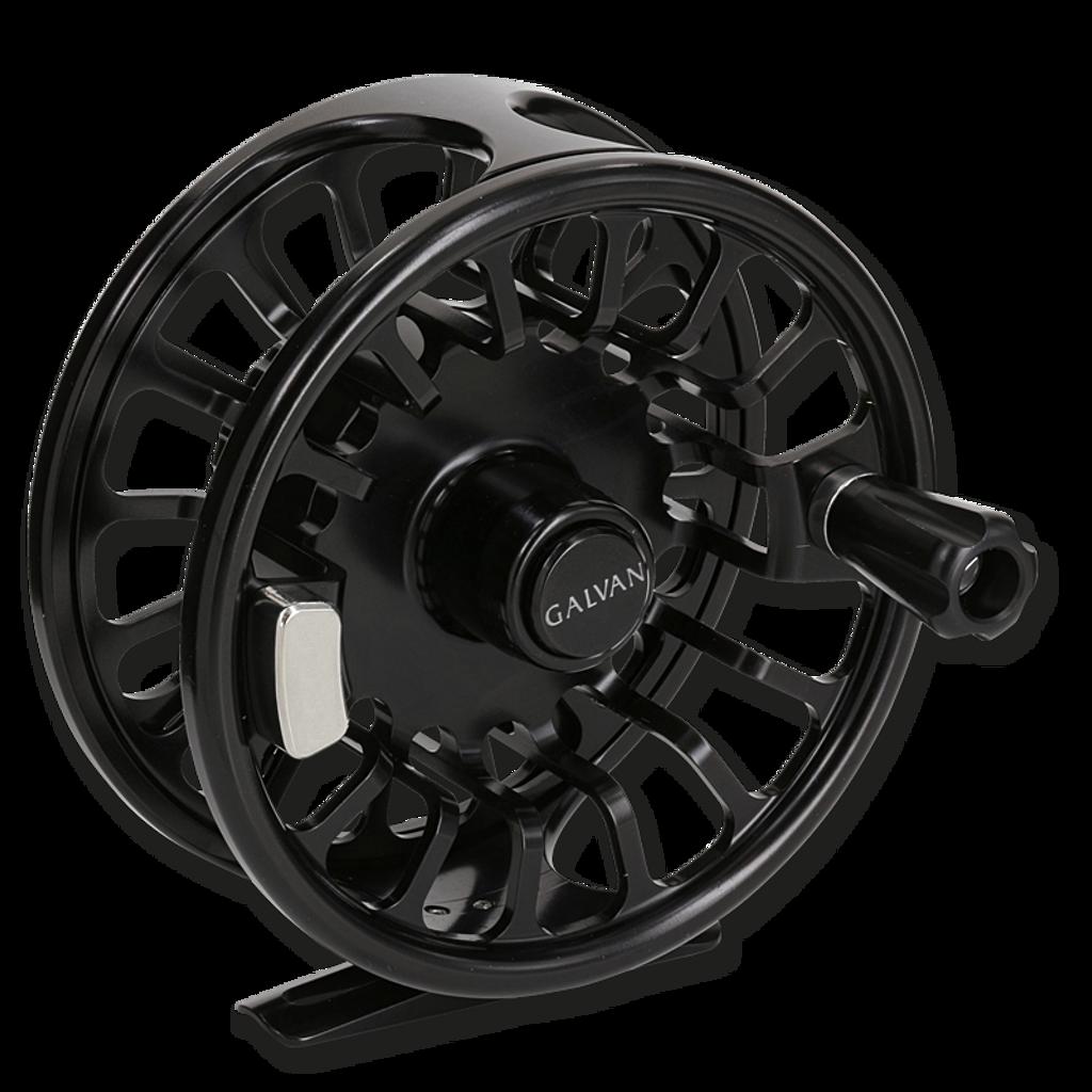Galvan Torque Fly Reels - Black (Front)