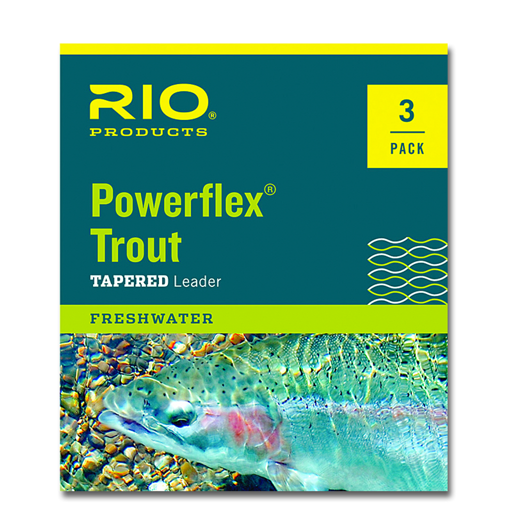 Rio Knotless Tapered Trout Leaders - 3 Pack
