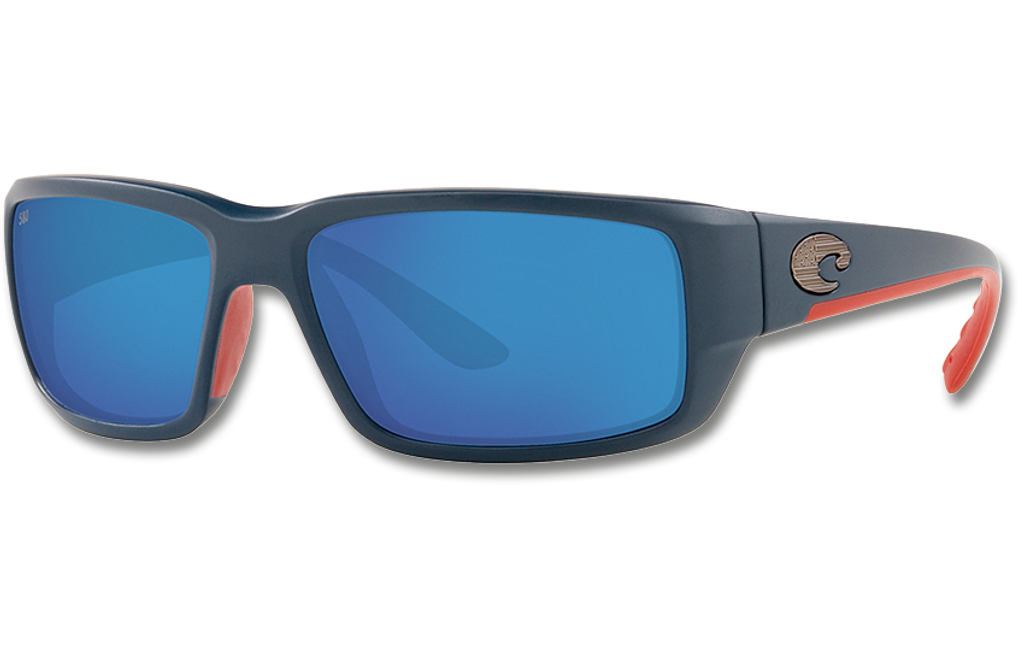 Fantail Polarized Glass 580 Sunglasses - Matte Freedom Fade/Blue Lightwave Glass