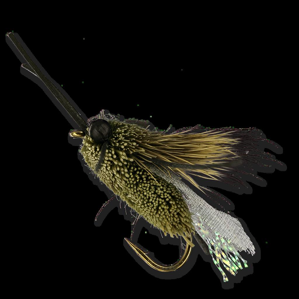 Clark's Cicada - Olive #10