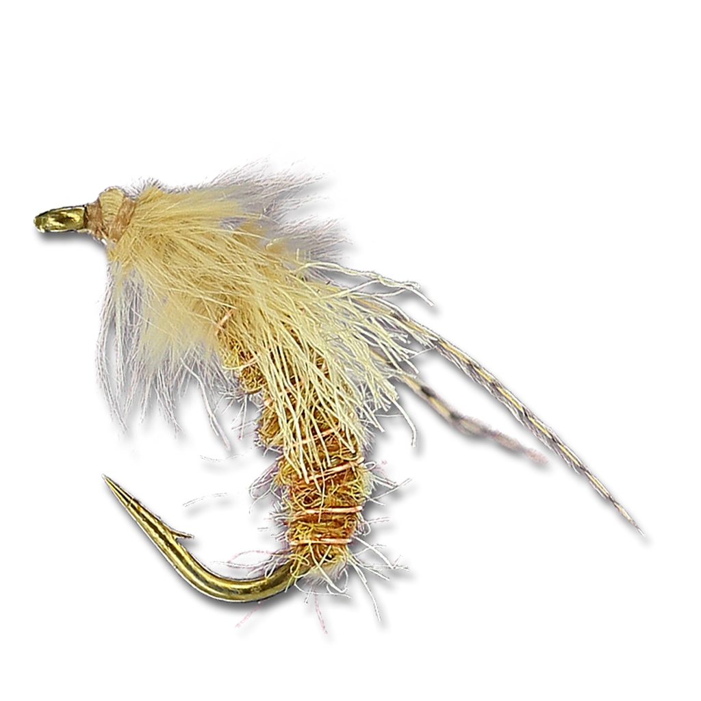 Mercer's Z Wing Caddis - Amber