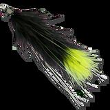 Living Leech - Black/Green Butt #2