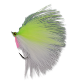RK's 20-20 Minnow - Chartreuse/White #4
