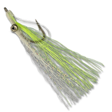 Shallow Water Clouser - Chartreuse #6