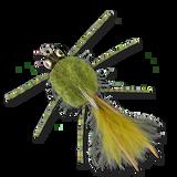 The Raghead Crab - Olive