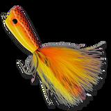 In-Shore Popper - Orange/Yellow #3/0