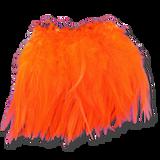 Super Strung Webby Saddle Hackle - Orange