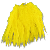 Super Strung Webby Saddle Hackle - Yellow