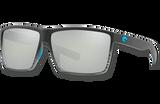 Rincon Polarized 580 Sunglasses - Matte Smoke Crystal Fade/Gray Silver Lightwave Glass