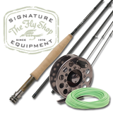 The Fly Shop's Signature Fresh H2O Fly Rod/Reel/Line Outfits - M2a Fly Reel
