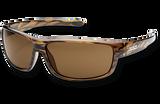 Suncloud Voucher Polarized Sunglasses - Brown Stripe/Polar Brown