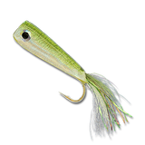 Crease Flies - Olive/Silver #1/0
