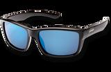 Suncloud Mayor Polarized Sunglasses - Black/Blue Mirror