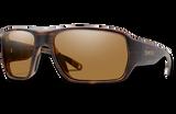 Castaway ChromaPop Polarized Glass Sunglasses - Matte Tortoise/Polarized Brown