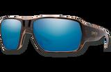 Castaway ChromaPop Polarized Glass Sunglasses - Tortoise/Polarized Blue Mirror