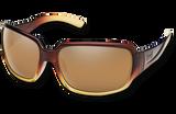 Suncloud Laurel Polarized Sunglasses - Brown Fade/Sienna Mirror