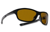 "TFS Polarized ""Cruiser"" Sunglasses - Matte Black/Amber"