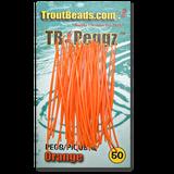 TB (Trout Beads) Peggz - Orange