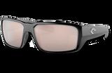 Fantail Pro Polarized Glass 580 Sunglasses - Matte Black/Copper Silver Lightwave Glass