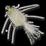 Casa Blanca Raghead Crab -  White (top view)