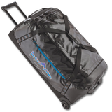 Patagonia Black Hole® Wheeled Duffel Bag - Black with Fitz Trout