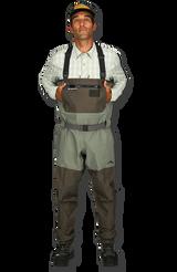 Simms Freestone Stockingfoot Wader - Dark Gunmetal