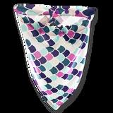 Damsel Fly Fishing Snood - Purple Mermaid Scale