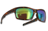"""TFS Polarized """"Marsh"""" Sunlasses - Tortoise/Brown Green Mirror"""