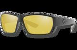 Tuna Alley Polarized Glass 580 Sunglasses - Blackout/Sunrise Silver Lightwave Glass
