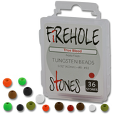 Firehole Stones (Tungsten Beads)