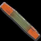 Barred Fire-Tip Sili Legs - Avacado/Orange