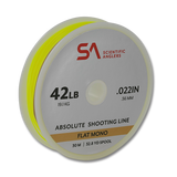 Scientific Anglers Absolute Flat Mono Shooting Line - 42 LB